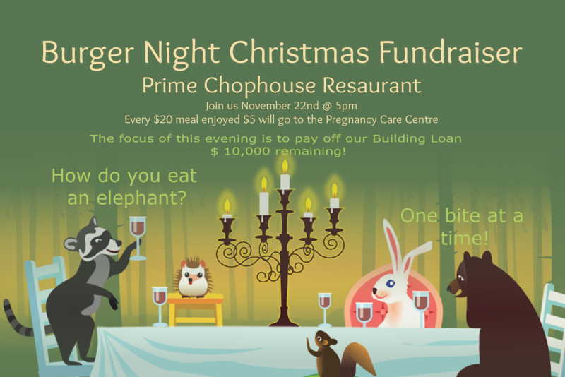 Burger Night Fundraiser